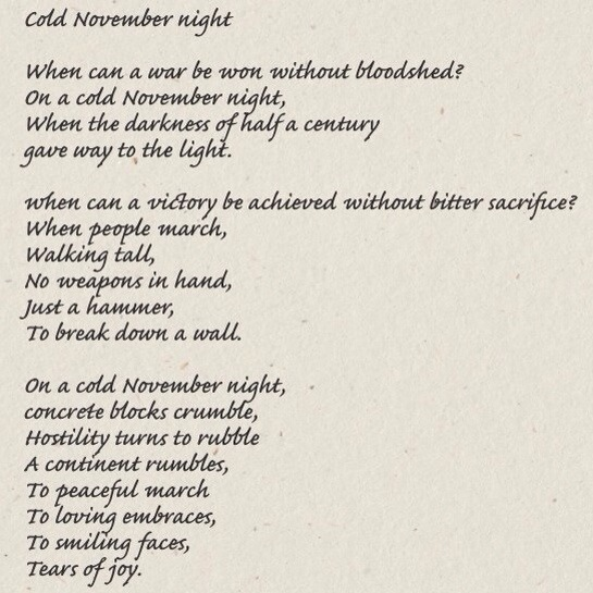 November Poems 7